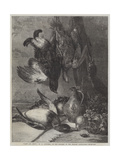 Game and Fruit Giclee Print by William Duffield