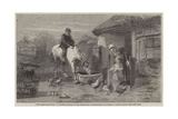 The Farmhouse Porch Giclee Print by Walter Goodall