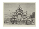 The Manipur Outrage, Palace Gates, Where Mr Quinton and Others Were Seized Giclee Print by  Warry