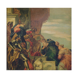 King Ahasuerus Crowns Esther, 1556 Giclee Print by  Veronese