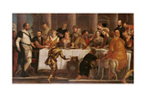 The Wedding Feast at Cana Giclee Print by  Veronese