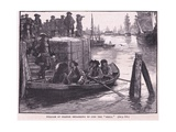 William of Orange Embarking to Join the Brill Ad 1688 Giclee Print by Walter Stanley Paget