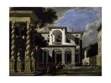Imaginary Villa, 1641 Giclee Print by Viviano Codazzi