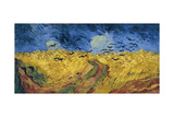 Wheatfield with Crows, 1890 Giclee Print by Vincent van Gogh