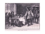 Arrest of Argyll Ad 1661 Giclee Print by Walter Stanley Paget