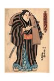 Musashi No Monta Giclee Print by Utagawa Toyokuni