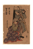 Segawa Roko to Bando Mitsugoro Giclee Print by Utagawa Toyokuni