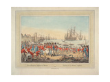 The British Royal Navy, 1815 Giclee Print by Wilhelm Alexander Kobell