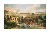 The Battle of Tetouan in 1860, 1870 Giclee Print by Vincente Gonzalez Palmaroli