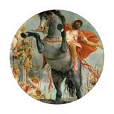 The Sacrificial Death of Marcus Curtius, C.1550-2 Giclée-Druck von  Veronese