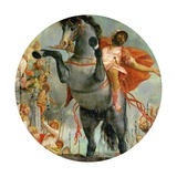 The Sacrificial Death of Marcus Curtius, C.1550-2 Giclee Print by  Veronese