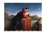 Francesca Da Rimini, Exh. 1837 Giclee Print by William Dyce