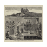 Ireland and Her Landowners, Dromore Castle, Built by the Earl of Limerick Giclee Print by  Warry