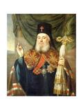 Portrait of Platon, Metropolitan of Moscow and Kolomna Giclee Print by Vladimir Lukich Borovikovsky