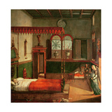Dream of St.Ursula, 1495 Giclee Print by Vittore Carpaccio