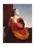 St. Catherine, C.1840 (Panel) Giclee Print by William Dyce