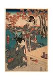 Momijigari No Himegimi Giclee Print by Utagawa Toyokuni