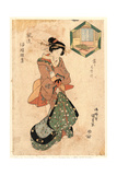 Yoshidaya Giclee Print by Utagawa Toyokuni
