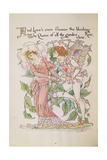 The Rose from 'Flora's Feast' Giclee Print by Walter Crane