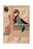 Sawamura Tanosuke No Oshichi Giclee Print by Utagawa Toyokuni