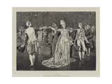 A Minuet Giclee Print by Valentine Cameron Prinsep