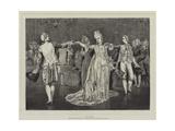 A Minuet Giclee Print by Valentine Cameron Prinsep