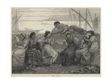 Evening at Genoa Giclee Print by Walter Jenks Morgan
