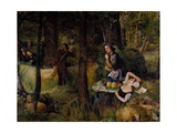 Scene from 'As You Like It' by William Shakespeare Giclee Print by Walter Howell Deverell