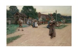 Betrayed, 1887 Giclee Print by Walter Langley