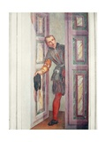 A Servant at the Door, 1562 Giclee Print by  Veronese