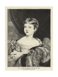H M Queen Victoria at the Age of Ten Giclee Print by William Fowler
