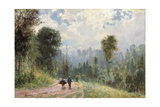Forest Pathway, 1874 Giclee Print by Vasilij Dmitrievich Polenov