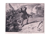 The Assault on Athlone Ad 1691 Giclee Print by William Barnes Wollen