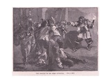 The Assault on Sir John Coventry Giclee Print by Walter Stanley Paget