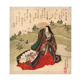 Iwai Shijaku No Miyahime Giclee Print by Utagawa Toyokuni