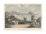 Macao from Penha Hill, 1855 Giclee Print by Wilhelm Joseph Heine