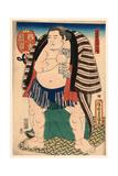 Nishi No Kata Kagamiiwa Giclee Print by Utagawa Toyokuni