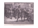 Assassination of Dr Dorislaus AD 1649 Giclee Print by Walter Stanley Paget