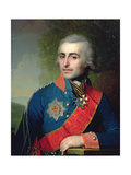 Portrait of General Aide-De-Camp Count Pyotr Tolstoy (1761-1844) 1799 Giclee Print by Vladimir Lukich Borovikovsky