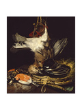 Still Life with a Dead Jay Giclee Print by Willem van Aelst