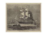 Departure of the Dundee Whaling Fleet Giclee Print by Walter William May