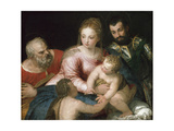The Holy Family with the Young St John the Baptist and St George, Early 1550S Giclee Print by  Veronese