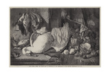 Dead Swan, Game, and Fruit Giclee Print by William Duffield