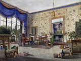Drawing Room in Middleton Park Giclee Print by William Alfred Delamotte
