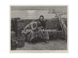 Never Morning Wore to Evening, But Some Heart Did Break Giclee Print by Walter Langley