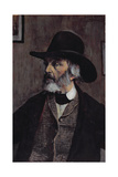 Portrait of Thomas Carlyle (1795-1881) C.1879 Giclee Print by Walter Greaves