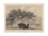 Chinese Temple, Macao, 1855 Giclee Print by Wilhelm Joseph Heine