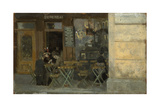 Cafe in Dieppe, C. 1884-5 Giclee Print by Walter Richard Sickert