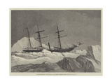 Arctic Exploration, the Jeannette, Mr J Gordon Bennett's Vessel, in the Pack of Ice Giclee Print by Walter William May