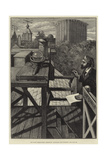 The Royal Observatory, Greenwich, Measuring the Sunshine Giclee Print by William Bazett Murray
